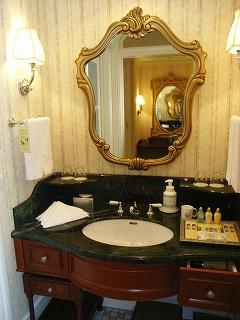 ディズニーランドホテル2009・洗面台