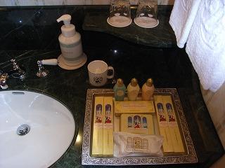 ディズニーランドホテル2009・アメニティ