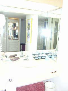 シェラトン・グランデ・トーキョーベイ2009・洗面台
