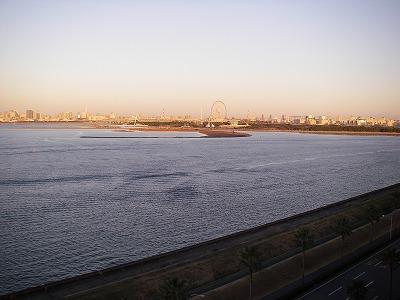 ベイホテル東急・デラックスファミリールーム・眺望2