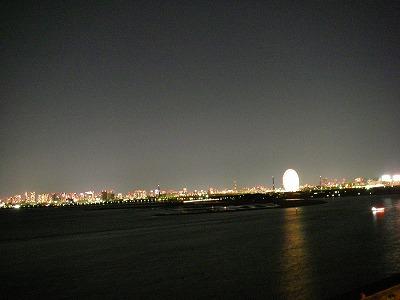 ベイホテル東急・デラックスファミリールーム・夜景1