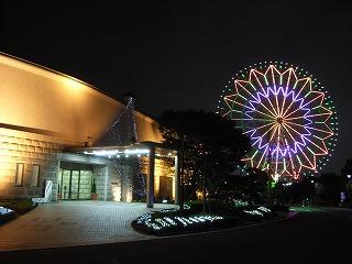 ホテル・シーサイド江戸川と大観覧車
