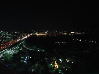大観覧車からホテル・シーサイド江戸川を望む