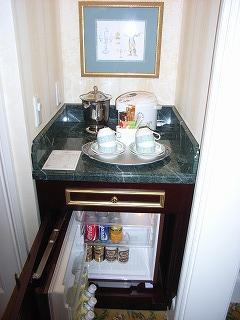 ディズニーランドホテル2009・冷蔵庫