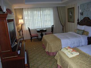 ディズニーランドホテル2009・室内
