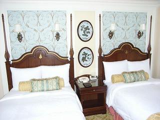 ディズニーランドホテル2009・ベッド