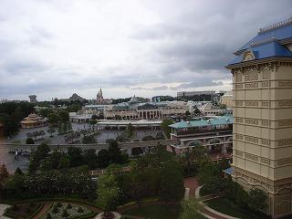 ディズニーランドホテル2009・眺望