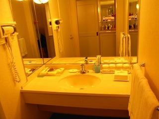 ベイホテル東急200912・洗面台