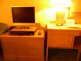 ベイホテル東急200912・TV
