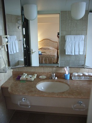 ベイホテル東急200903洗面台