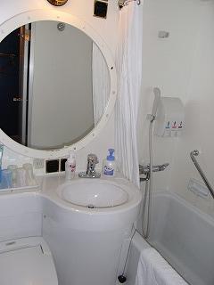 サンルートプラザ東京・クルージングキャビン4・バスルーム1