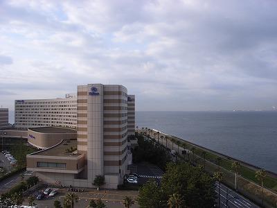 ベイホテル東急200903眺望朝