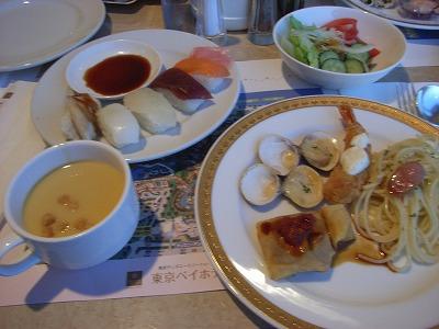 ベイホテル東急200903ディナーバイキング3