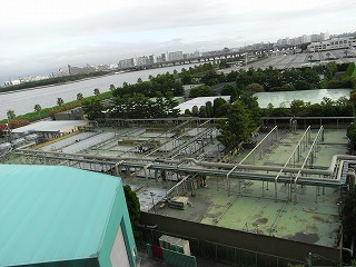 サンルートプラザ東京・クルージングキャビン4・眺望眼下