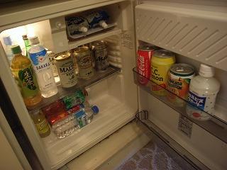 ホテルオークラ東京ベイ200808冷蔵庫