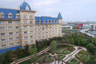 東京ディズニーランドホテル・アルコーヴルーム・眺望