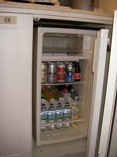ベイホテル東急・冷蔵庫