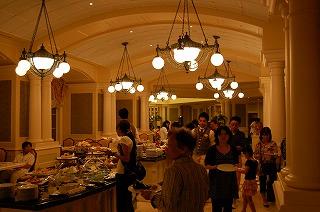 東京ディズニーランドホテル・アルコーヴルーム・シャーウッドガーデンレストラン6