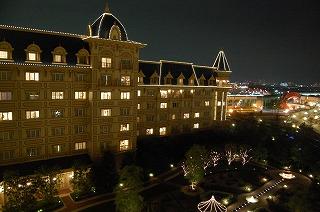 東京ディズニーランドホテル・アルコーヴルーム・眺望夜