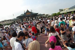 東京ディズニーランドホテル・専用ゲート