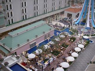 ベイホテル東急・内廊下からの眺望