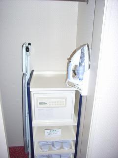 シェラトン・グランデ・トーキョーベイ2009・セーフティーBOX
