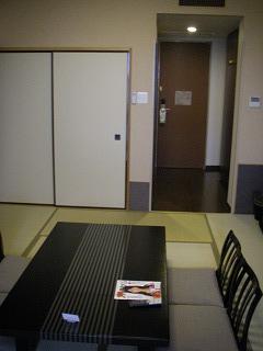舞浜ユーラシア和室露天風呂付・室内1