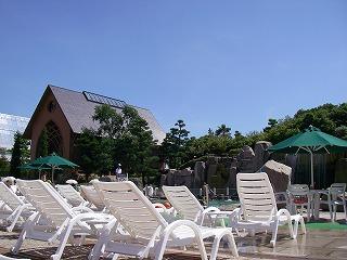 シェラトン・グランデ・トーキョーベイ2009・プール