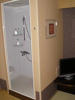 舞浜ユーラシア和室露天風呂付・シャワーブース