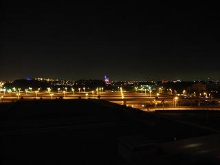 シェラトン・グランデ・トーキョーベイ2009・眺望夜景1