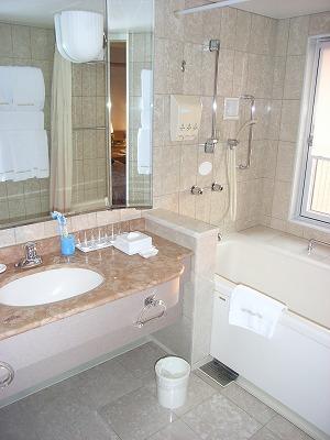 ベイホテル東急・デラックスファミリールーム・洗面台