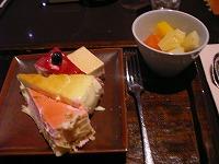 ベイ東京ヒルトン・ザ・スクエア パンエイジアン料理 フォレストガーデン・デザート