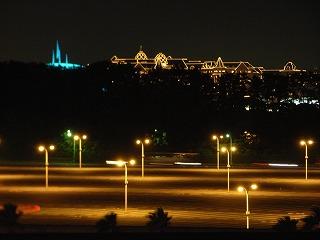 シェラトン・グランデ・トーキョーベイ2009・眺望夜景2