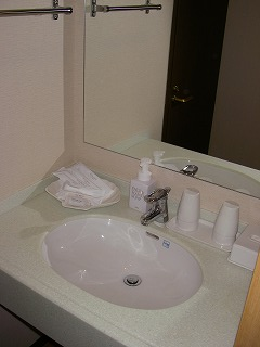 舞浜ユーラシア和室露天風呂付・洗面台