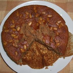 オートミールケーキ