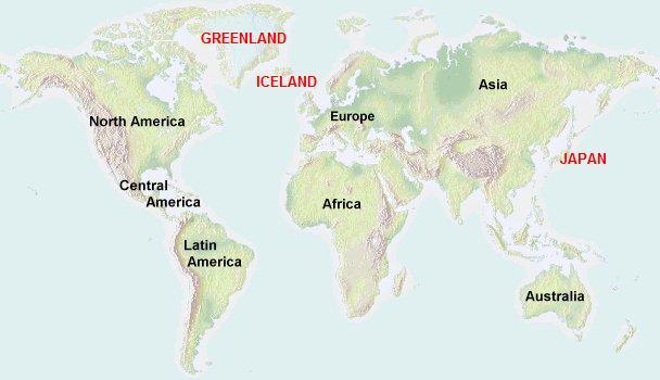 アイスランド・グリーンランド旅...