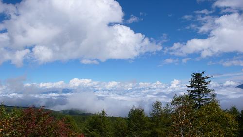 ちょい雲海