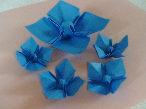 ハート 折り紙 折り紙で花の作り方 : divulgando.net