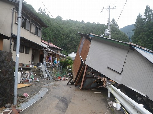 台風12号・被災