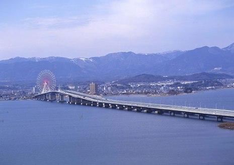 琵琶湖大橋 加藤登紀子さんと滋賀県・琵琶湖   キャッフィーのびわブロ - 楽天ブログ