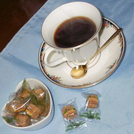 イタリア ラツィオ ペルーシュの可愛いコーヒーシュガー