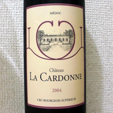 シャトー・ラ・カルドンヌ 2004