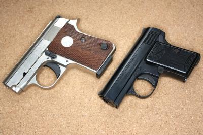 BB4 ↑ 左:マルシン ジュニアコルト、右:ベビーブローニング ジュニアコル... MG174