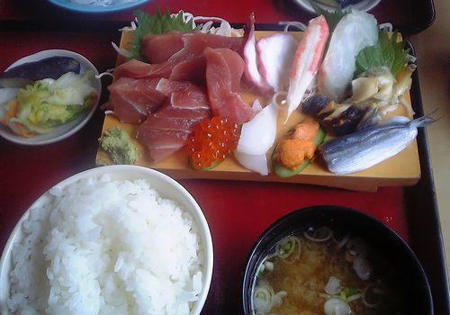 ヨシミ-刺身定食上