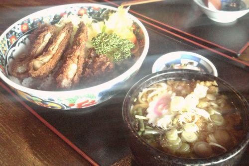 大釜-ソースカツ丼