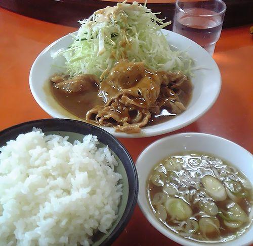 かどや食堂-味噌豚
