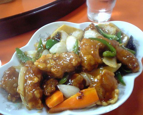 かどや食堂-酢豚