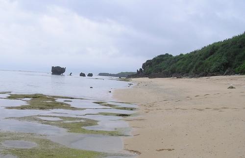 秘密のビーチ