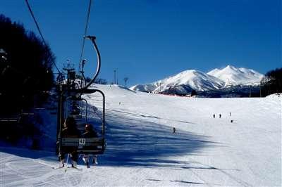 家族スキー旅行2日目 いがやスキ...