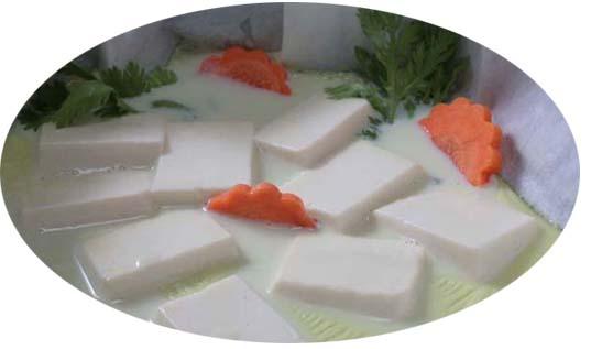 緑湯豆乳 鍋